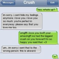 I feel like this is something I would do #text #texts #textfails #funny #hilarious #awesome #crush #fail by awkwardfacepalm