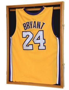 db3ce25c85f Details about Large Sports Jersey Shadow Box Wall Display Case Rack - Jersey  Frame 98% UV