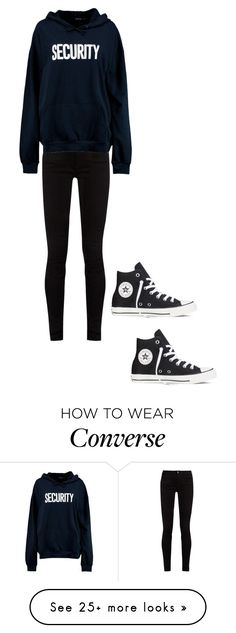 """""""Untitled #505"""" by brain-cosand on Polyvore featuring Gucci, Boohoo and Converse"""