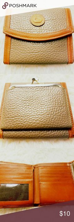 Vintage Dooney & Bourke wallet Vintage Dooney & Bourke wallet Circa 1970's there is wear and tear from age but still usable Vintage Bags Wallets
