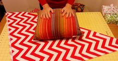 In just MINUTES, she transforms a regular old pillow into THIS!