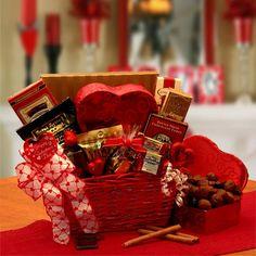 Cupids Choice Valentines Chocolates Gift Basket