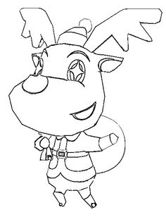 Animal Crossing Coloring Pages 3 school ideas