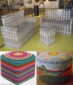 Looking for a really fun recycling DIY project! Recycling at its Finest: How to Build a Magnificent Milk Jug Igloo, Creative and easy project to entertain kids. Reuse Plastic Bottles, Plastic Bottle Crafts, Diy Bottle, Recycled Bottles, Recycled Crafts, Recycled Materials, Unicorn Wall Art, Cardboard Crafts, Reuse Recycle
