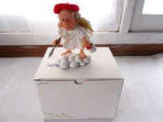 Richard Simmons Reminder Angel Goebel Figurine Every Cloud Has A Silver Lining