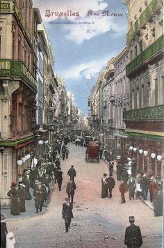 De Nieuw Straat! Si si , la Rue Neuve !!! ;)