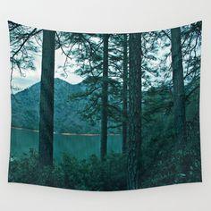 Lake Shasta Beauty Wall Tapestry