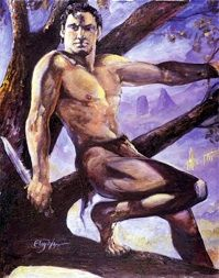 Tarzan de Tom Floyd - desenho 2