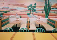 phdonohue:del taco no. New Mexico, 1990 Style, Del Taco, Tacos, Layout, Retro Aesthetic, Commercial Interiors, Art Plastique, Route 66