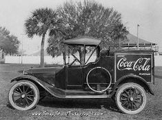 1920 Coca cola delivery truck I chose this picture becouse coca cola products are still a major influence in the American life.