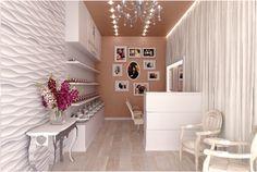 small beauty salon design ideas Salon Interior Design, Beauty Salon Design, Concept Architecture, Salons, Furniture Design, Design Ideas, Contemporary, Home Decor, Lounges