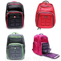 Expedition 300 Backpack by Six Pack Bags HOT PINK