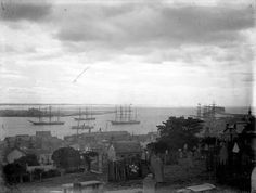 Newcastle Harbour (year unknown). Newcastle Nsw, Central Coast, Historical Pictures, South Wales, Old Photos, Sailing Ships, Postcards, Past, Australia