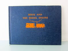 Your place to buy and sell all things handmade Thomas The Tank, The Rev, Steam Engine, Book Collection, Vintage Books, I Am Happy, Childrens Books, Engineering, This Book
