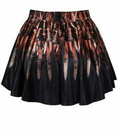 Falda Trono de Hierro. Juego de Tronos Estupenda falda inspirada en la gran serie de Tv, Juego de Tronos.