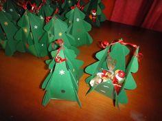 Tannenbaum aus Pappe basteln zum Nikolaus.. auch als Adventskalender