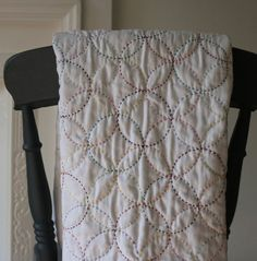 Hand Stitched Baby Quilt by RBQuiltsandTextiles on Etsy