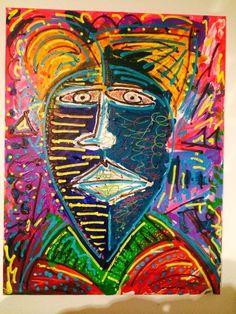 Leon Löwentraut, 15 year old German painter. Seine Kunst kommt offenbar an: Nach seiner ersten Ausstellung hätten sich sogar internationale Interessenten gemeldet, sagt Leon.