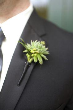 結婚式のブートニアの手作りデザイン画像まとめ【新郎向け】   ときめキカク365