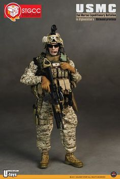 onesixthscalepictures: Soldier Story: USMC version 2.0 (STGCC 2011 Exclusive) : Latest product news for 1/6 scale figures (12 inch collectib...