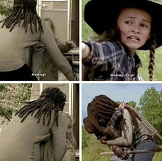 EP.14 'SCARS' MICHONNE RESCUES JUDITH GRIMES Walking Dead Season 9, Walking Dead Tv Series, Walking Dead Memes, The Walking Dead Tv, Dont Open Dead Inside, Judith Grimes, Fangirl Problems, Stuff And Thangs, Big Time