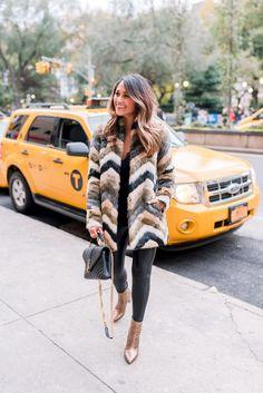 Haute Off The Rack, New Orleans blogger, Louisiana blogger, women's fashion, A Pinch of Lovely, Luxe Faux Fur, Designer Handbag, Koral Lustrous Leggings, Leather Leggings, Faux Fur Coat, Velvet Tank, NYC Fashion, YSL Handbag, Metallic Booties, Blogger Fashion, 70s look, Blogger Outfit, Fall Clothes, Fall Style, NYC Fashion, Winter Fashion, Holiday Fashion, World Traveler, Fur Jacket