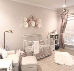 Cameran Eubanks is showing off her gorgeous nursery as she awaits the arrival of her baby girl! Modern Nursery Decor, Baby Nursery Decor, Nursery Design, Baby Decor, Nursery Room, Nursery Ideas, Nursery Themes, Room Ideas, Bedroom