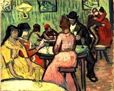 Vincent Van Gogh - The Brothel (Le Lupanar), 1888.