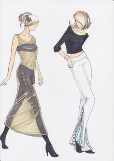 #sketch #olgapassia #fashion #draw #model