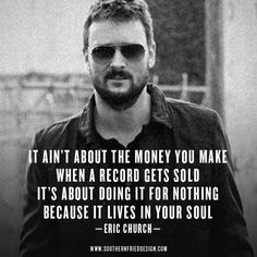 Eric Church | The Outsiders | www.southernfrieddesign.com