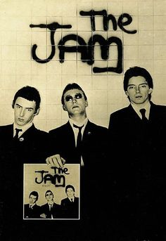 Art Poster The Jam In the City Print | eBay