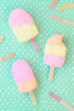popsicle cakes via Studio DIY