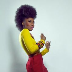 Click the image for Shea Rose's natural hair photos and regimen.