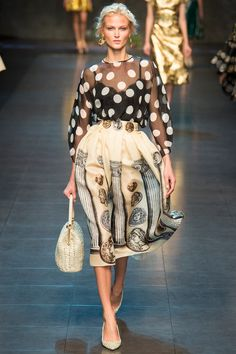 Dolce   Gabbana Spring 2014 Ready-to-Wear Collection Slideshow on Style.com ce77f651f8f