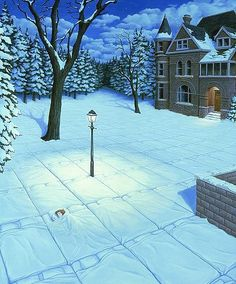 Rob Gonsalves Magic Realism Illusions | Mighty Optical Illusions