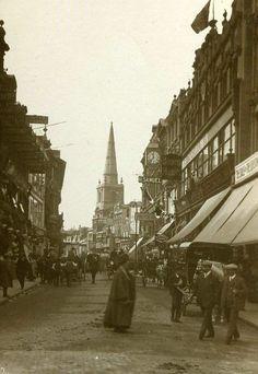 Wine Street 1900.