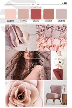 Top ColorWall™ Colors of All Time | Blush – eColorWorld Season Colors, Color Trends, All About Time, That Look, Blush, Bedroom Inspo, Top, Instagram Ideas, Blushes