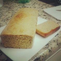 Nova receita do pão Dukan - 05 fatias por dia!