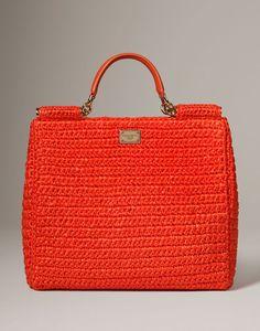 Sicily in rafia Donna - Borse Donna su Dolce Online Store Italia - Dolce & Gabbana Group