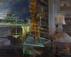 Olivier Masmonteil, Untitled, 2015, Oil on canvas, 160 x 130 cm, Courtesy Galerie Dukan