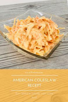 Coleslaw zelf maken - Koolsalade recept - Verfrissende Amerikaanse salade