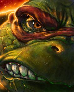 TMNT: Raphael by ~ericbraddock on deviantART