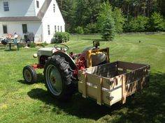 Tractor Attachments, Ford Tractors, Old Fords, Small Farm, Homesteading, Gardening, Canning, Toys, Vehicles