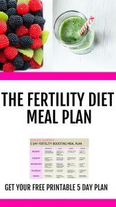 Trying to get pregnant or dealing with infertility? Do you know what to eat to get pregnant? This fertility diet worked for me! Give your fertility a boost with this eating plan that will help PCOS, egg quality and unexplained infertility. Get your free 5 Get Pregnant Fast, Trying To Get Pregnant, Pregnant Mom, Get Pregnant With Pcos, Pregnant Meal Plan, Getting Pregnant With Endometriosis, Fertility Smoothie, Fertility Foods, Natural Fertility