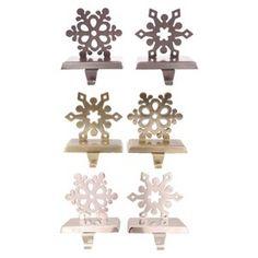 Snowflake Stocking Holders : Target Mobile