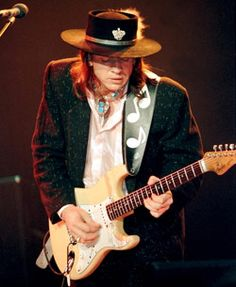 Stevie Ray Vaughan, quite easily one of the most bitchin guitar players EVER.