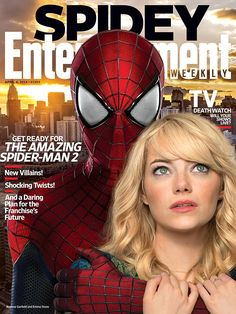 Entertainment Weekly's ready for The Amazing Spider-Man 2, in theaters May 2. Are you? http://popwatch.ew.com/2014/03/26/amazing-spider-man-2-cover/