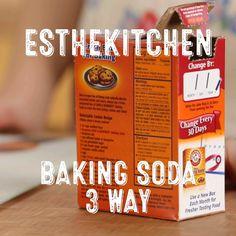 Three Uses fro Baking Soda