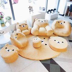 Rilakkuma Furniture That Look Soo Comfy!