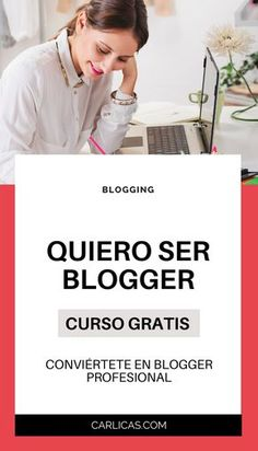 Inicia tu carrera como blogger profesional hoy mismo! #blog #blogger #ganardineroporinternet #trabajardesdecasa Blogging, Carrera, Tips, Home, Earn Money Online, Life Tips, Finance, Studio